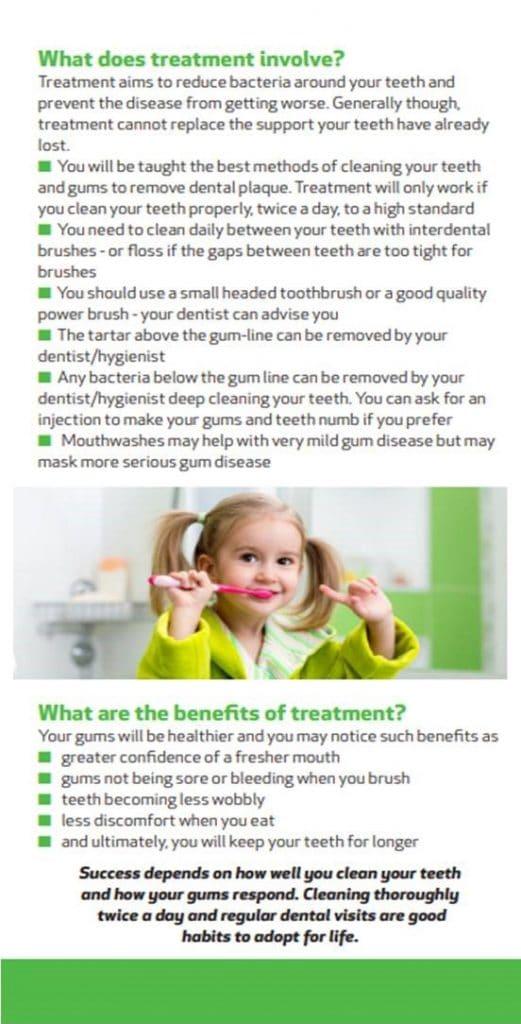 BSP Gum disease risk factors