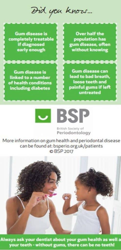 BSP gum disease dis you know