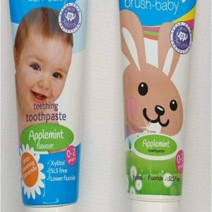 brush-baby toothpaste