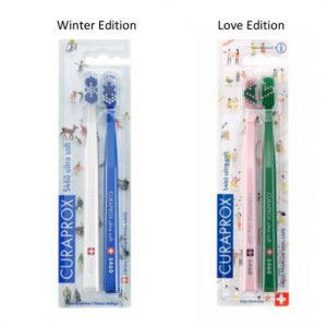 Curaprox twin pack limited edition toothbrush