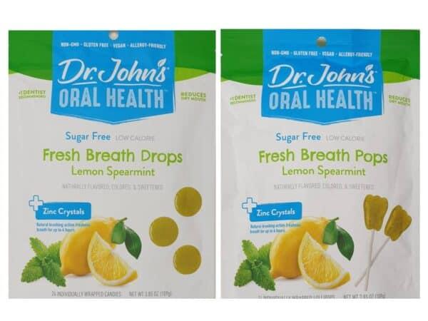 Fresh breath sugar free zinc