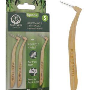 Biodegradable interdental brush