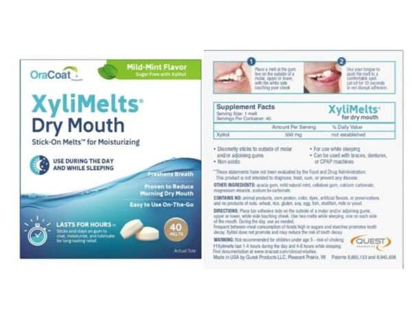 Xylimelt pack info