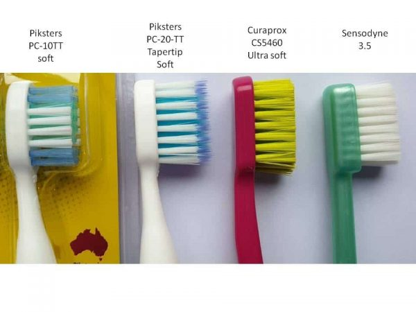 toothbrush head size comparison
