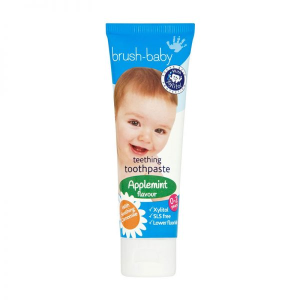 Brush Baby Applemint toothpaste
