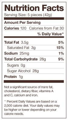 Dr Johns Caramel Nutrition