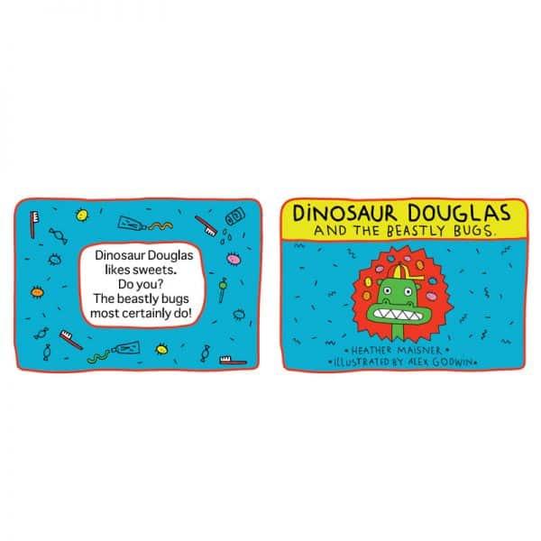 Dinosaur Douglas Book