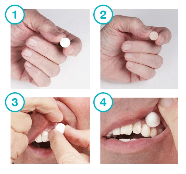 How to use Xylimelts for Dry Mouth