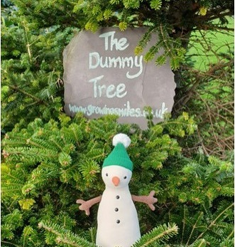 The Dummy Tree with Snowman