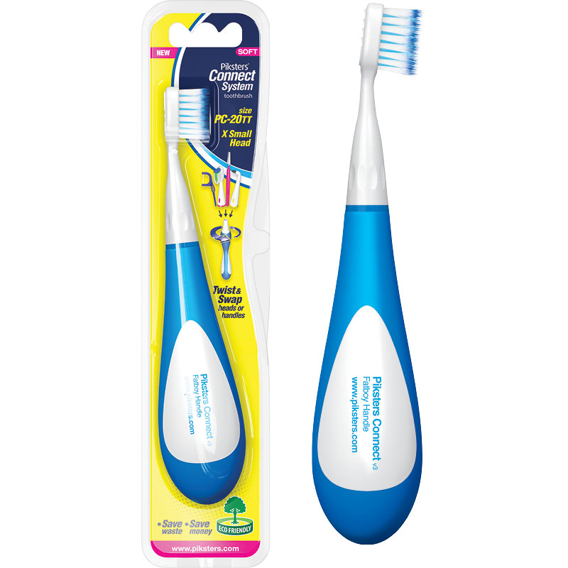 Fatboy toothbrush the handle with a great grip
