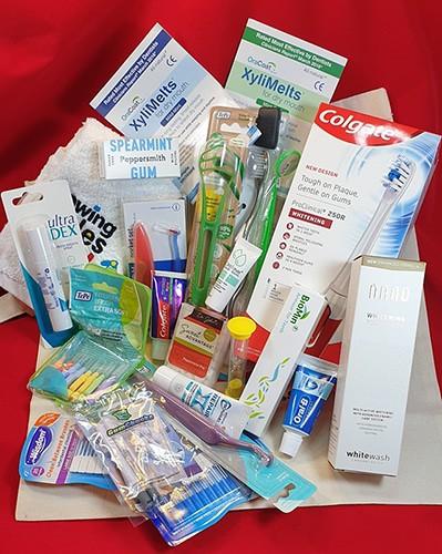 Health & wellbeing goodie bag
