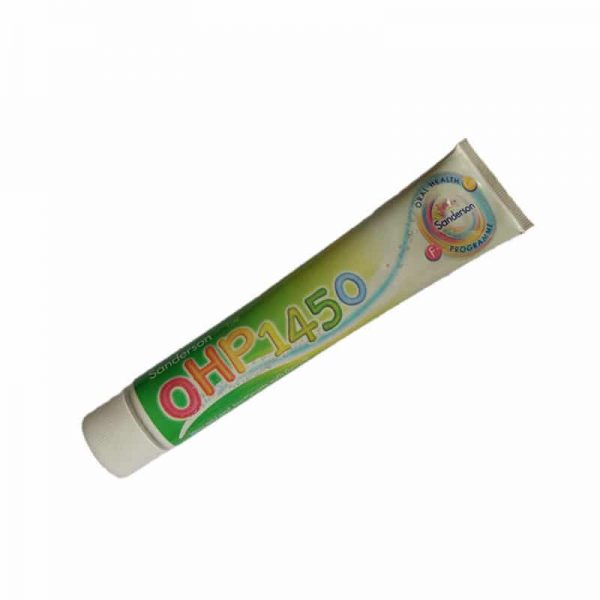 Sandersons OHP 1450 fluoride toothpaste