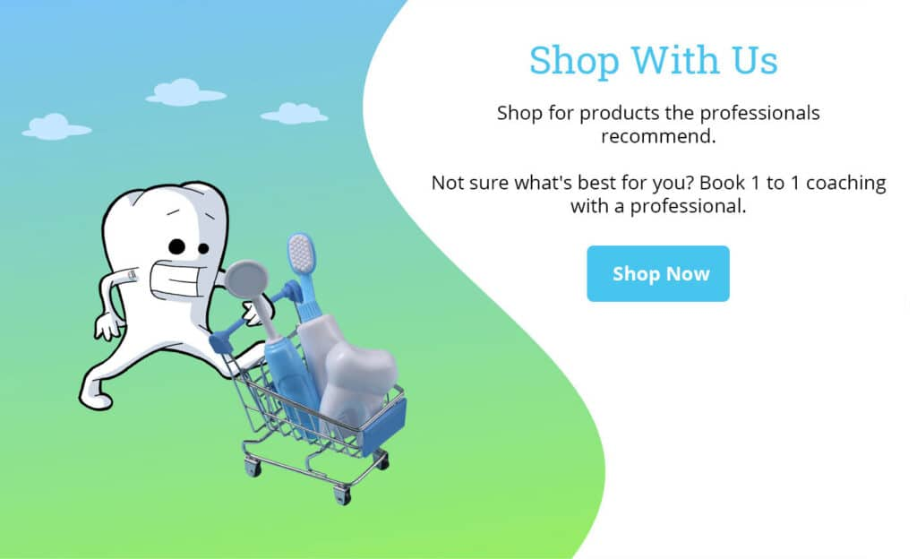 shop with us for dental products